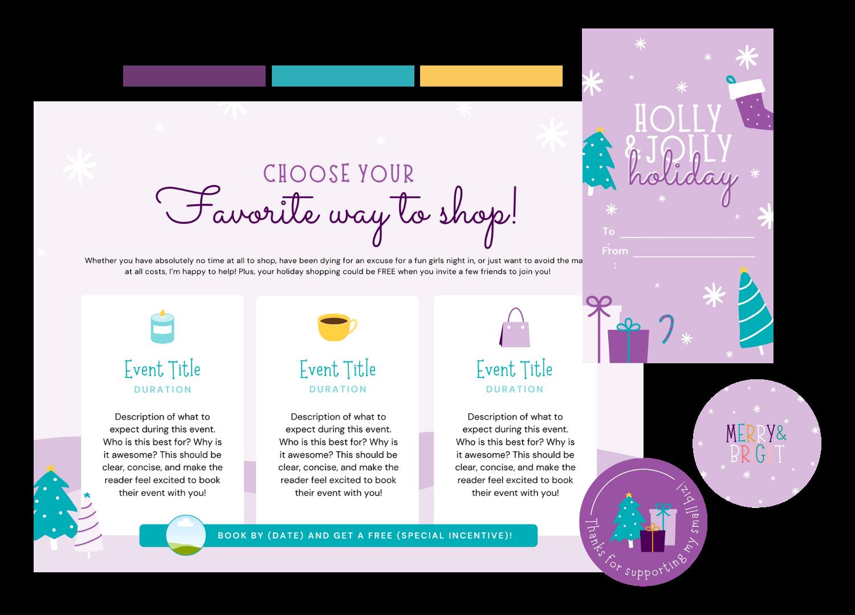 Holiday Bundle Color Scheme Examples 2