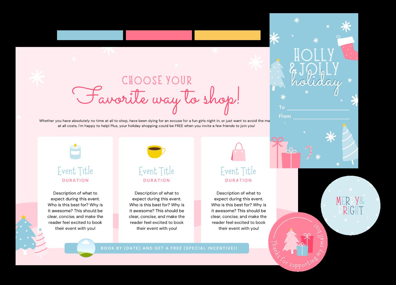 Holiday Bundle Color Scheme Examples 3