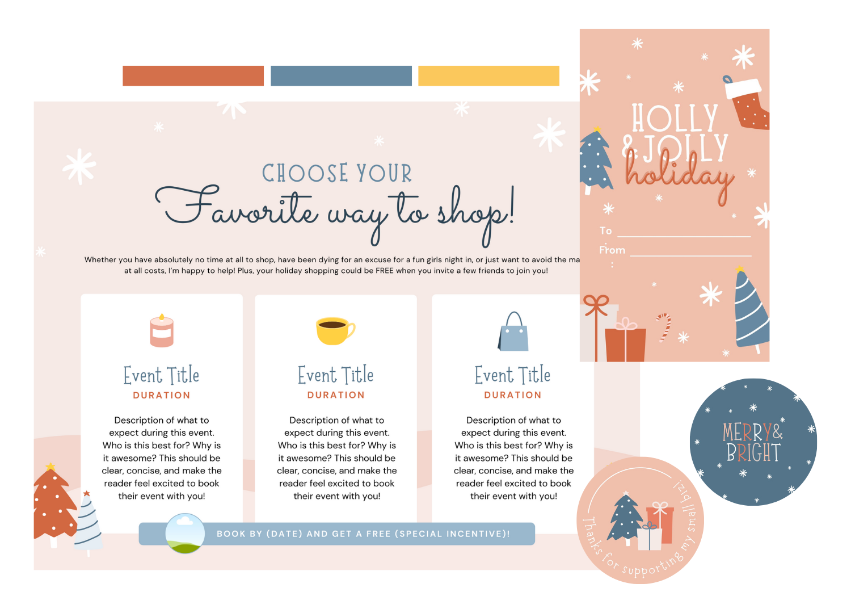 Holiday Bundle Color Scheme Examples 4